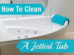 how to clean jetted tub