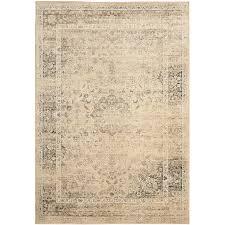 safavieh vintage alhia warm beige indoor distressed area rug common 10 x 14