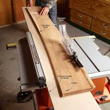 cutting edge table saw hacks construction pro tips man using table saw to straighten wood construction pro tips