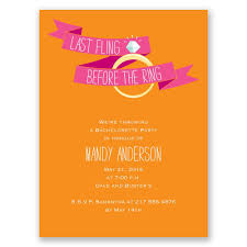 bachelorette party invite before the ring bachelorette party invitation invitations by dawn