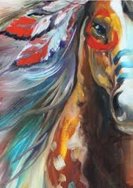 the warhorse of indian hand painted abstract horse canvas art oil painting india adornment horse picture for living room decoration canvas horse indian