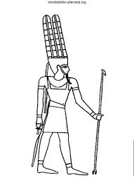 Antichi Egizi Da Colorare Online Mondo Bimbo