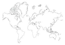 Printable World Map Outline Pdf Deltaadventure Info
