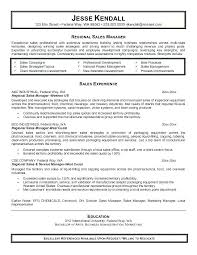Sample Resume For Sales And Marketing Sample Sales Resume Examples