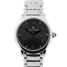 david yurman t716 m stainless steel grey dial mens watch david yurman watches david yurman watches
