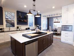 Kitchen With Blue Walls Navy Blue Kitchen Walls Quicuacom