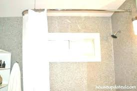 no drill curved shower rod no drill curtain rod rectangular shower curtain rod no drill gorgeous