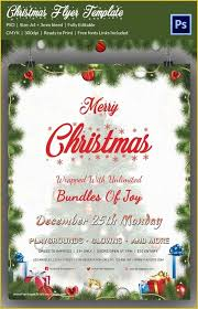 Free Holiday Flyer Templates Of 60 Christmas Flyer Templates