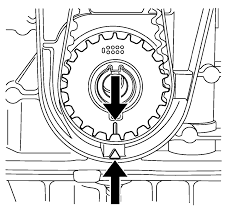 Chevrolet sonic repair manual timing belt installation chevrolet cruze timing belt replacement note the timing belt