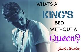 King And Queen Love Quotes Unique JUSTIN BIEBER QUEEN KING QUOTES LOVE INSPIRATIONAL WALLPAP Flickr
