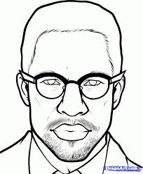 Small Picture Malcolm X Coloring Pages Fun Ideas Pinterest Malcolm X