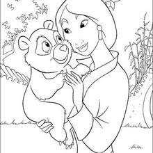 Small Picture Mulan coloring pages 28 free Disney printables for kids to color