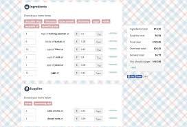 Invoice Price Calculator Bakecalc