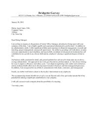 Cover Letters For Office Jobs Resume Bank