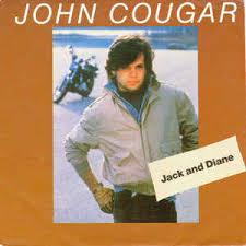 Cougar Mellencamp Jack John Diane vinyl 45 7