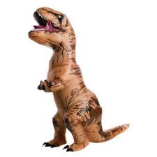 XX-Large Unisex Inflatable <b>T-Rex</b> Plus Size <b>Adult Halloween</b> Costume