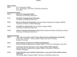 Download Academic Resume Template