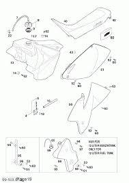 Tanksitzbankverkleidung tankseatcover 125 380 '99
