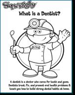 Free Kids Dental Coloring Sheets Activities And Charts