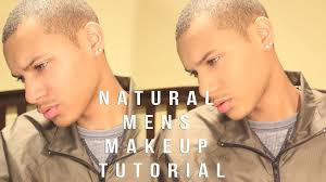 men s natural makeup tutorial