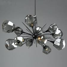 crystal chandelier table lamp contemporary crystal chandelier table lamp best of starburst oval chandelier by studio