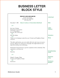 Sample Modified Block Style Cover Letter Free Resume Samples
