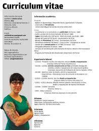 Plantillas Curriculum Vitae Ecro Word 01 Pinterest Curriculum