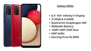 Samsung Galaxy M02s- Price and ...