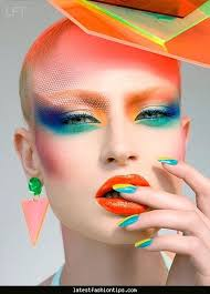 makeup for 80 s style