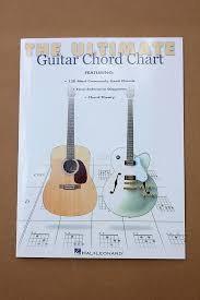 The Ultimate Guitar Chord Chart Hal Leonard Guitar Theory Instruction Book