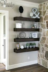 wall mounted shelves for electronics