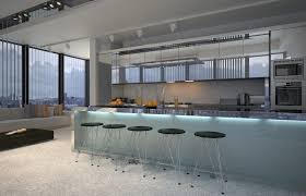 contemporary kitchen office nyc. Built-in Bars In A Kitchen Contemporary Office Nyc B