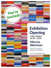 Youre Invited 1 December Exhibition Opening At Dekkers In Bussum