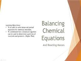 balancing chemical equations and reacting m lesson by jdlangford1 teaching resources tes