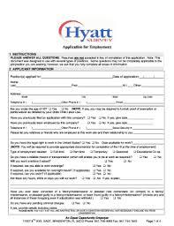Hyatt Get Form The Application