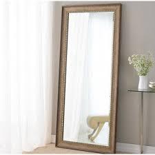 white full length mirror. Brunswick Floor Leaner Full Length Mirror White