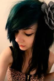 Hair Bangs Dyed
