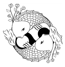 Small Picture Koi Fish Colouring Pages High Quality Coloring Pages Coloring Home