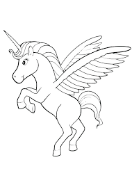 Unicorn Rainbow Coloring Page Haljinezamaturu