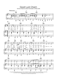 how much is old sheet music worth good luck charm sheet music music for piano and more
