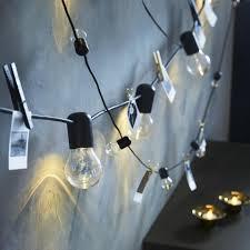 Svartra Ikea Lights BlÖtsnÖ Led Lichtsnoer Met 24 Lampjes Binnen Zwart Decor