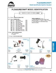 sierra marine engine and drive parts for pleasurecraft by anthea Basic Electrical Wiring Diagrams pleasurecraft model identification ignition system