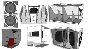Pa Subwoofer Cabinet Design Professional Subwoofer Box Choosing Tips