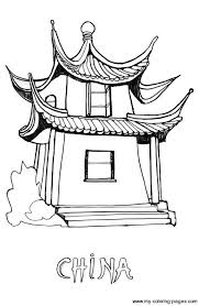 Chinese Coloring Pages For Kids Cultural Art Projects Pinterest