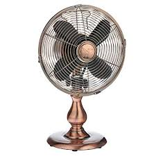 retro desk fan.  Retro Dynamic Collections Personal Electric Desk Fan Air Circulator For Cooling  Your Home Office Kitchen Throughout Retro