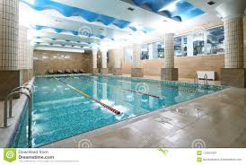 indoor gym pool. Royalty-Free Stock Photo Indoor Gym Pool M