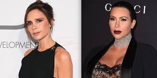 posh spice makeup. victoria beckham approves of kim kardashian\u0027s posh spice costume - calls girls look \ makeup