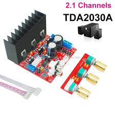 Mega Bass Tda2030a Subwoofer Verstärker 2,1 Kanal Audio Power Verstärker  Pcb Board Modul (montiert) 15w * 2 + 15w Geeignet Für Diy - Buy  Lautsprecher Leistungsverstärkermodul,Digitale Leistungsverstärkermodul, Verstärker Für Aktive Lautsprecher ...