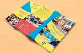 tri fold school brochure template 20 creative examples of college and university brochure design