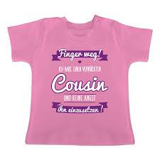 Ich Habe Einen Verrückten Cousin Lila T Shirt Rucksack Shirtracer